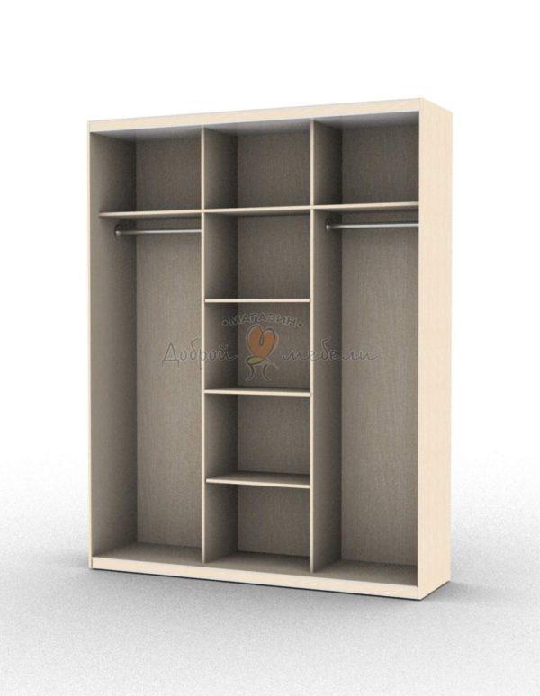 шкаф купе 3 внутри вариант 2