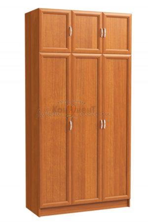 шкаф распашной 3х дверный 2400 с антресолью