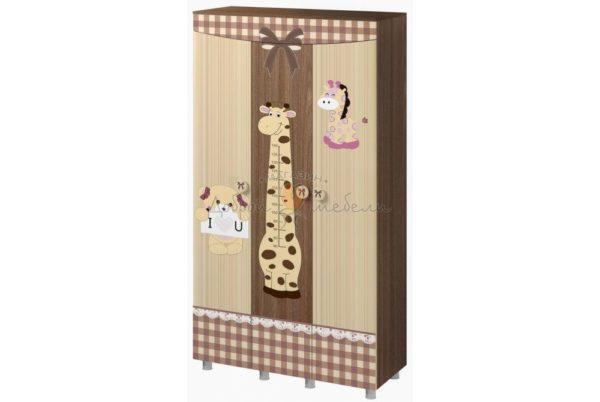 шкаф треххстворчатый Алиса