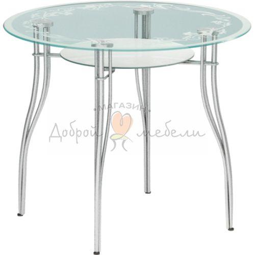 стеклянный стол Авантис 1 2