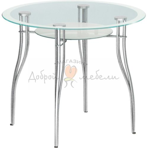 стеклянный стол Авантис 1