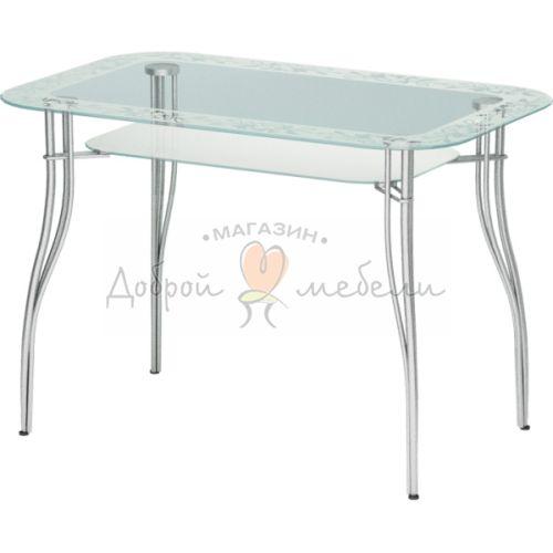 стеклянный стол Авантис 2 5