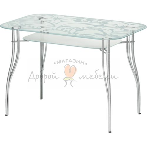 стеклянный стол Авантис 2 6