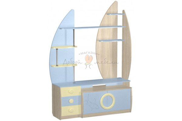 стеллаж для игрушек и книг Юнга