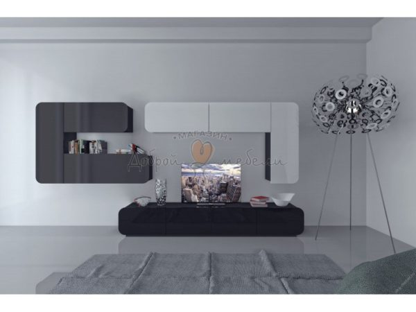 стенка в гостиную Модерн 1