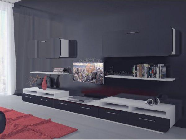 стенка в гостиную Модерн 4