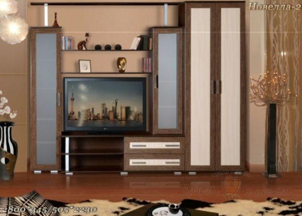 стенка в гостиную Новелла 2