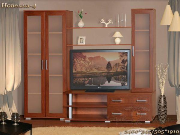 стенка в гостиную Новелла 4