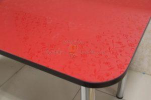 стол Былина красный 1
