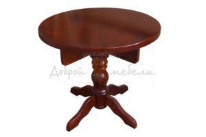 стол на 1 точеной ноге