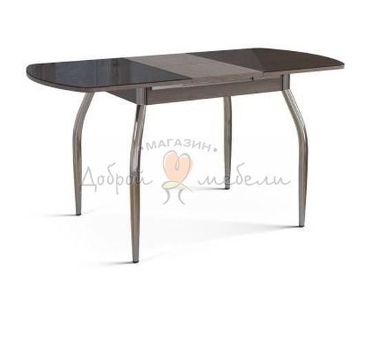 стол со стеклом Вальс раздвижной