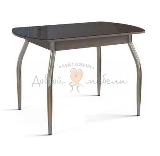стол со стеклом Вальс