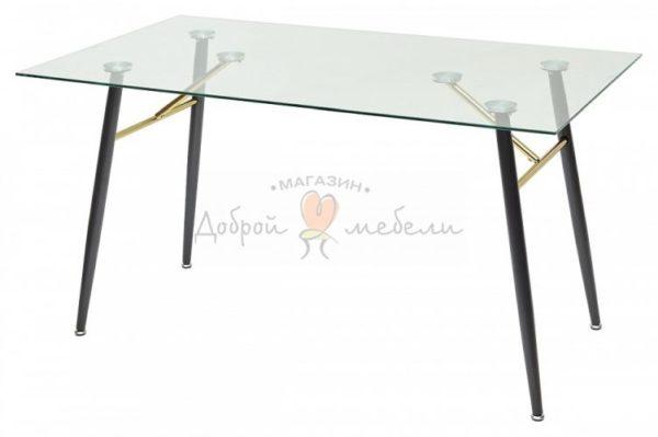 стол стеклянный Gold