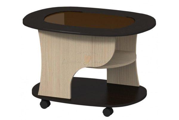 стол журнальный СЖ 1 со стеклом