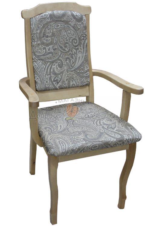стул деревянный Кресло Барон светлое