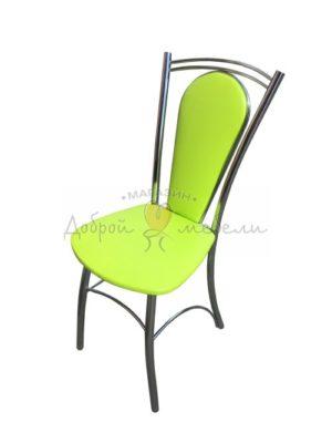 стул металлический ромашка 1