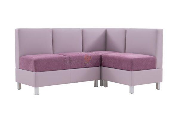 угловой диван для кухни Лион 3