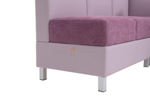 угловой диван для кухни Лион 5