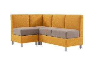 угловой диван для кухни Лион 9