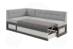 угловой диван для кухни Нойс 3