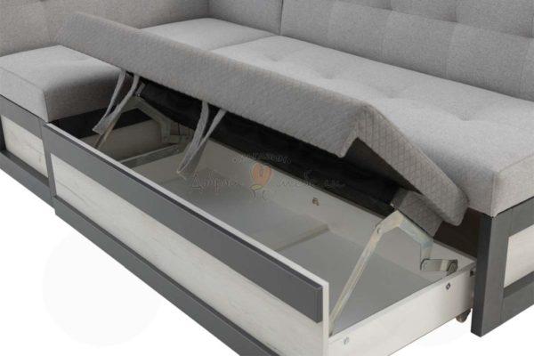 угловой диван для кухни Нойс 4