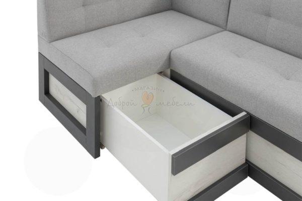 угловой диван для кухни Нойс 6