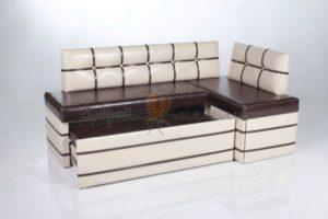 угловой диван для кухни со спальным местом Рио
