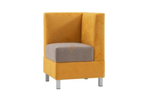 угловой элемент дивана для кухни Лион 7