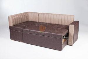 угловой кухонный диван Бостон со спальным местом