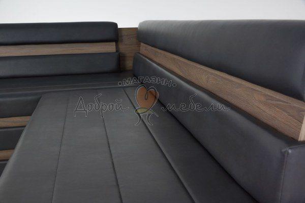 угловой кухонный диван Фостер крупный план