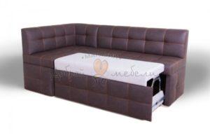 угловой кухонный диван со спальным местом Дублин