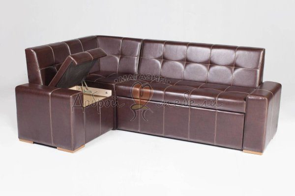 угловой кухонный диван со спальным местом Мадрид